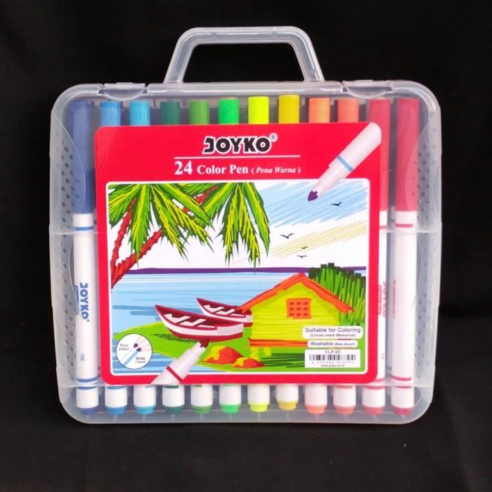 Foto Produk Spidol Joyko 24 Color Pen Set CLP-05 dari Dante