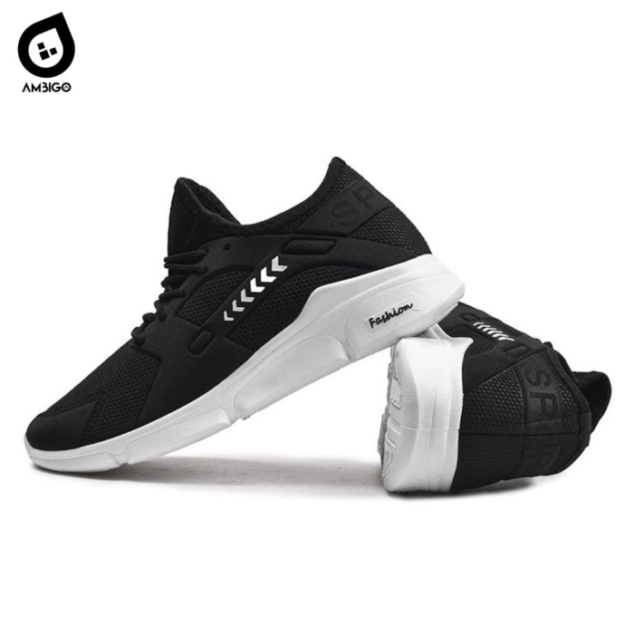 harga Ambigo air elioski n2 running shoes - sepatu sneakers olahraga pria - hitam 41 Tokopedia.com