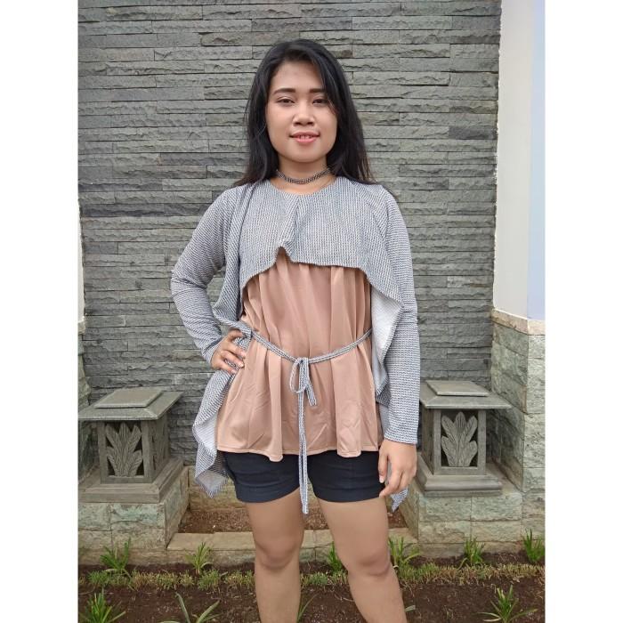 Jual Atasan wanita korean style baju cewek terbaru blouse keren AR ... de480adc50