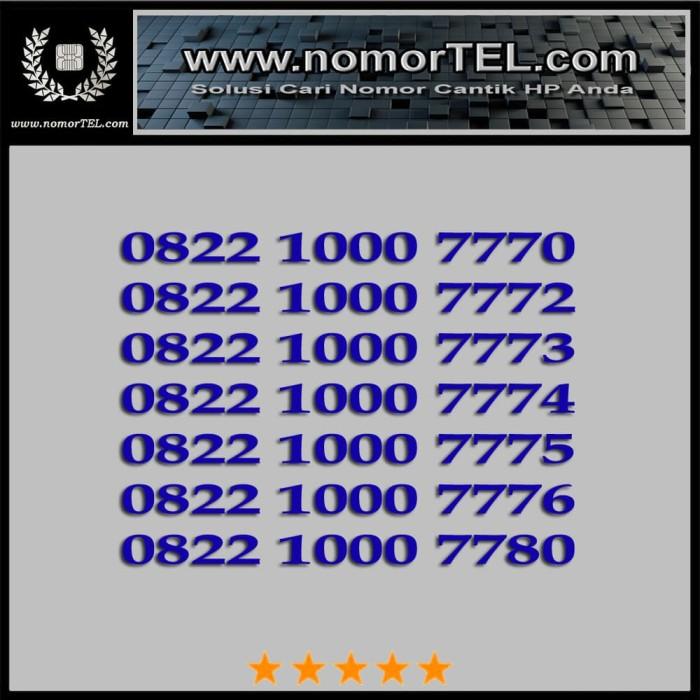 Nomor Cantik Telkomsel Simpati 0822 1000 4XXX 5XXX 6XXX 7XXX