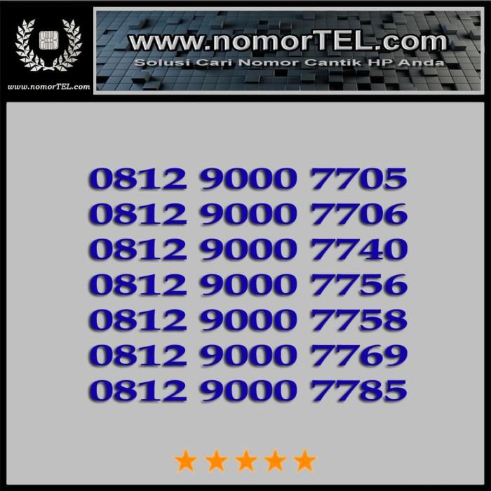 Nomor Cantik Telkomsel Simpati 0812 9000 77XX