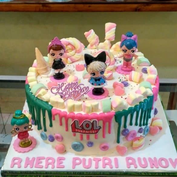 Jual Kue Ulang Tahun Lol Marsmellow Kota Bekasi Chars Cake Shop Tokopedia