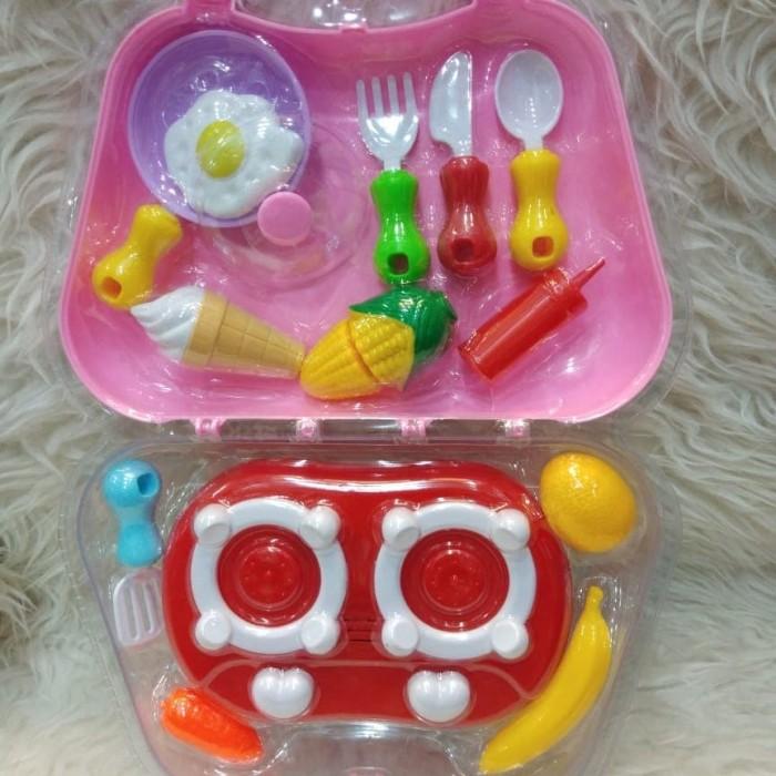 Jual Mainan Masak Masakan Anak Anak Import Jakarta Utara Nicetoys Bag Tokopedia