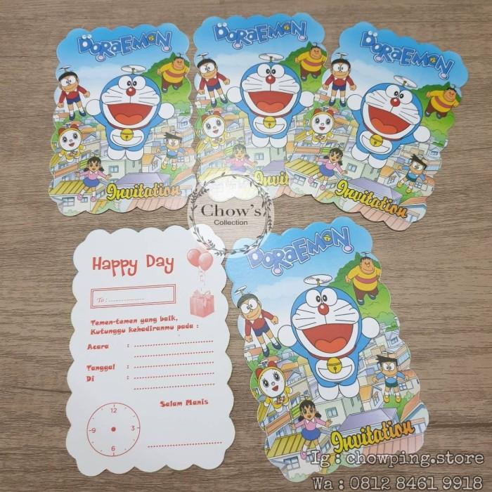 Jual Kartu Undangan Ultah Doraemon Undangan Ulang Tahun Doraemon Jakarta Barat Chowping Store Tokopedia
