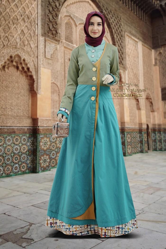 Jual Busana Muslim Gamis Pesta Long Dress Gamis Tuneeca T 0818052 Kota Bandung Gamis Branded Original Tokopedia