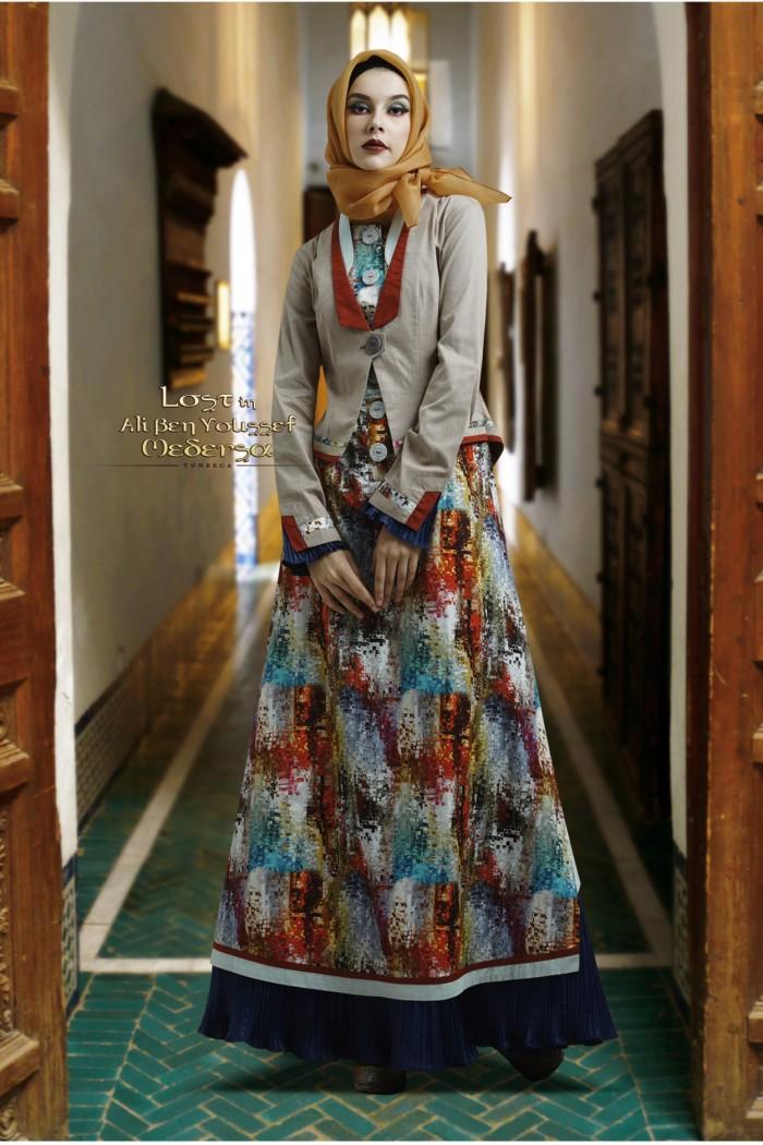 Jual Busana Muslim Gamis Pesta Long Dress Gamis Tuneeca T 0818062 Kota Bandung Gamis Branded Original Tokopedia