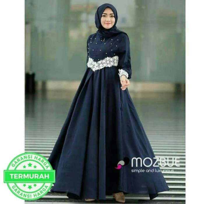 Jual Pajera Maxi Dress Gaun Pesta Muslim Kota Bandung B O M Baju Online Murah1 Tokopedia