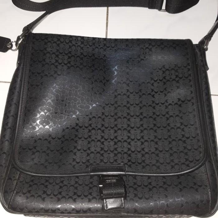 Jual COACH Messenger Bag Man original 100% - NewTechnoPhone  c71d50cf53