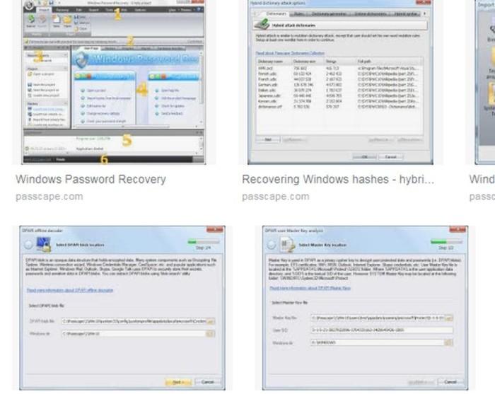 passcape windows password recovery advanced