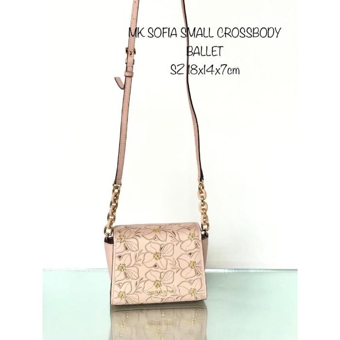 3211cb095771bd Jual MICHAEL KORS SOFIA SMALL CROSSBODY BALLET - DKI Jakarta - ratih ...