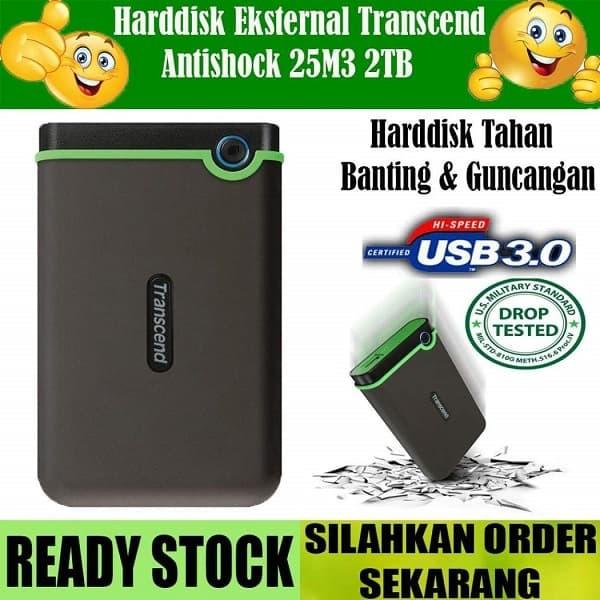 harga Transcend 25m3 2tb / hdd eksternal / portable drive Tokopedia.com