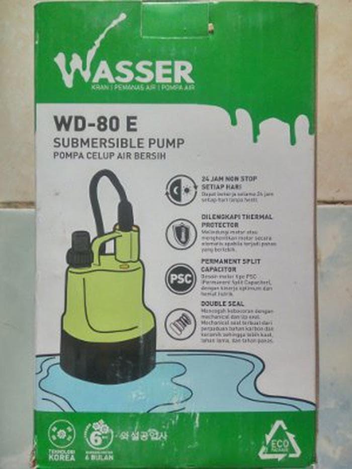 Jual Mesin Pompa Air Kolam Celup Wasser WD 80 E Best Deals - Acc Rilic | Tokopedia