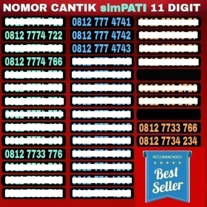 harga Simpati 11 digit kartu perdana nomor cantik no hp telkomsel indosat xl Tokopedia.com