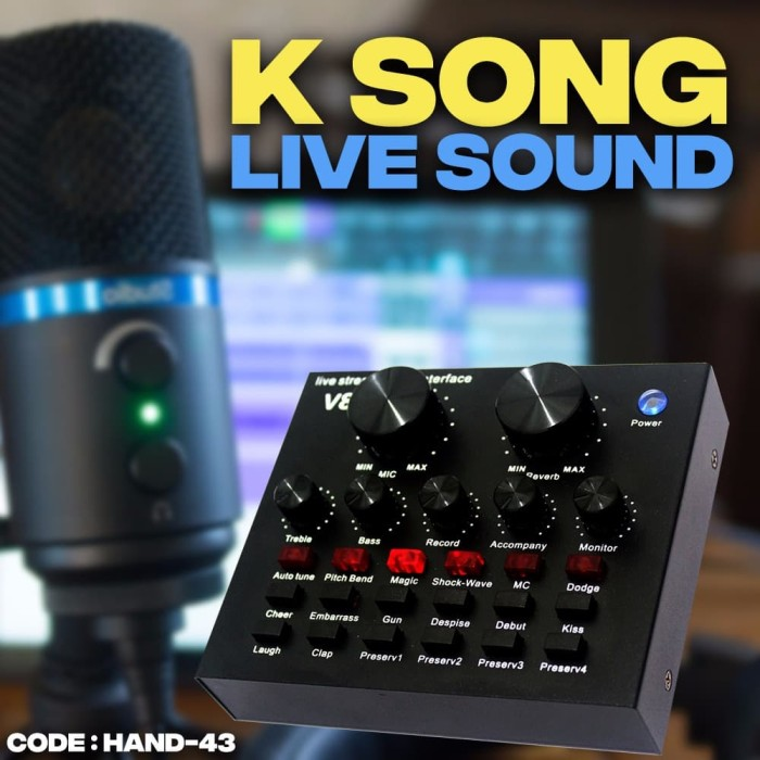 harga Mixer k sound live sound-mini mixer audio microphone - hand-43 Tokopedia.com