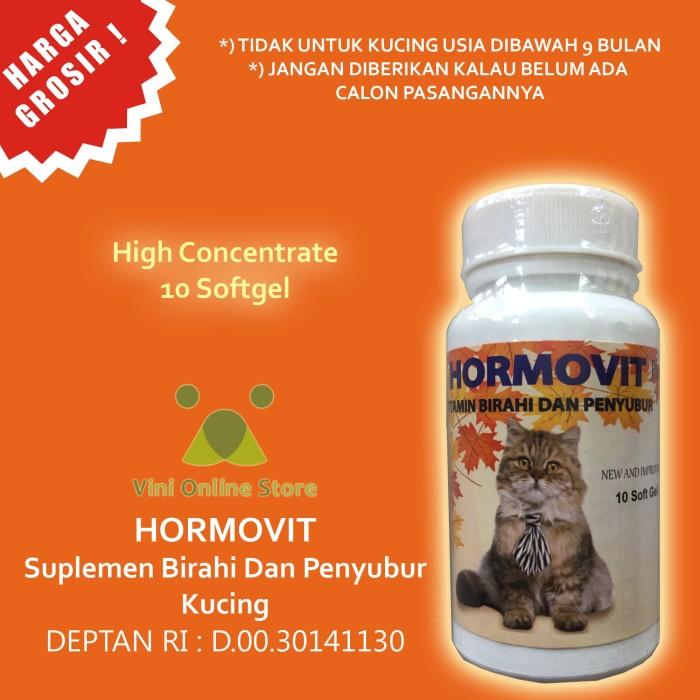 Jual Vitamin Kawin Kucing Betina Dan Penyubur Hormovit 10 Softgel Kota Depok Vini Store Tokopedia