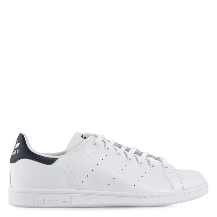 Jual Sepatu Adidas Putih Biru Original Stan Smith Kota Medan