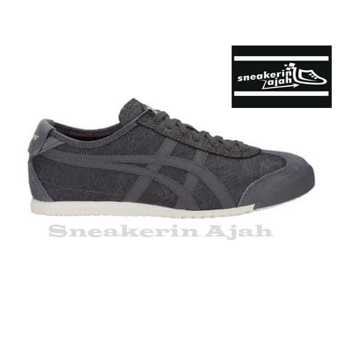 low cost 2c9ea 88910 Jual Onitsuka Tiger Mexico 66 Dark Grey Dark Grey - Kota Surabaya -  SnekerinAjah...! | Tokopedia