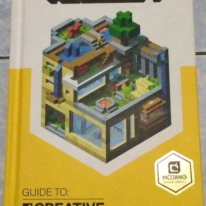 Jual BUKU MINECRAFT MINECRAFT BOOK YELLOW MINECRAFT GUIDE TO CREATIVE -  Jakarta Barat - Repam Spare Parts | Tokopedia