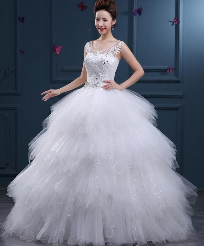 Jual Gaun Pengantin Wedding Kebaya Pre Wedding Modern Import Nikah