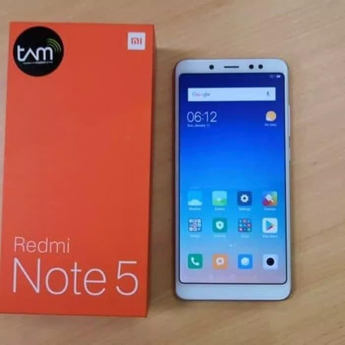 Jual Hp Xiaomi Redmi Note 5 Pro Xiomi Mi Note 5 Ram 4 64gb 4gb 64gb Tam Emas Jakarta Timur Nazara Haga Phone Tokopedia