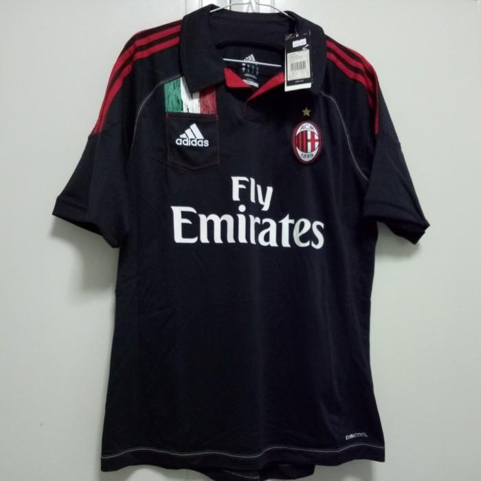 harga Original jersey ac milan 12/13 3rd bnwt Tokopedia.com