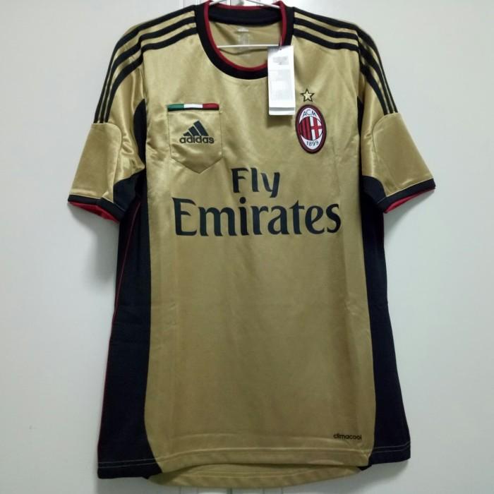 harga Original jersey ac milan 13/14 3rd bnwt Tokopedia.com