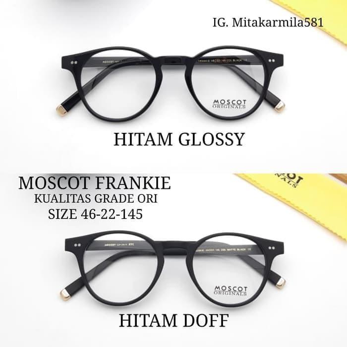 Jual Unik frame Kacamata Moscot Frankie pria wanita paket lensa c ... ccc598e2c9