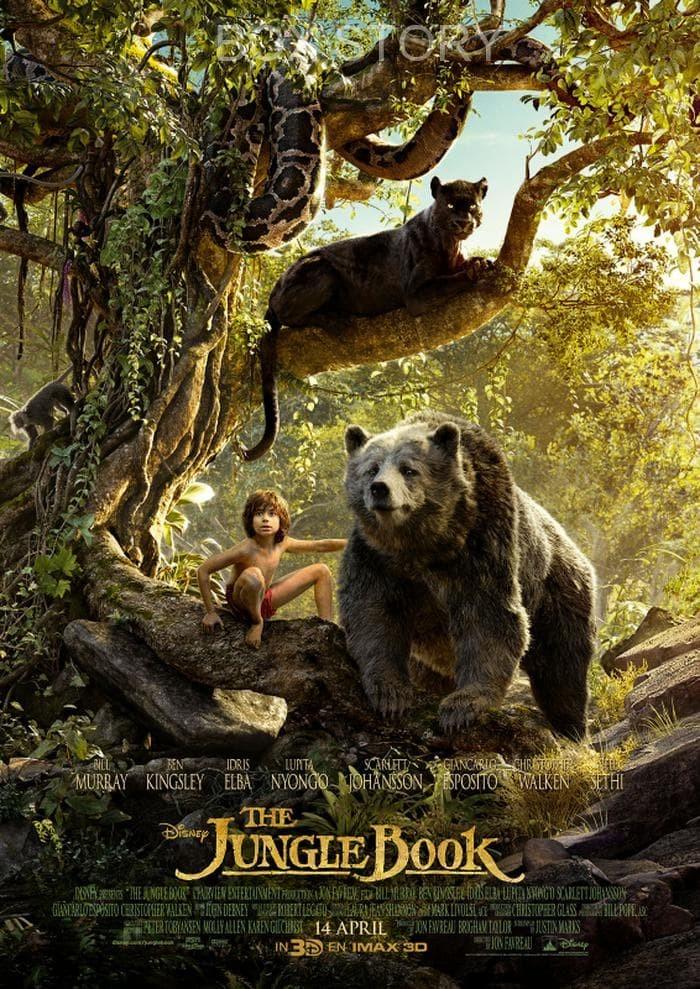 Jual Film Dvd The Jungle Book 2016 2016 Kota Tasikmalaya Boxstory Tokopedia