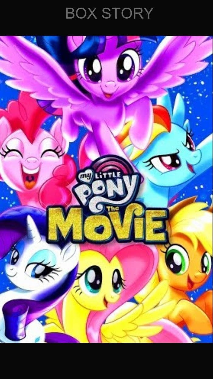 Jual Film Dvd My Little Pony The Movie 2017 Kota Tasikmalaya Boxstory Tokopedia