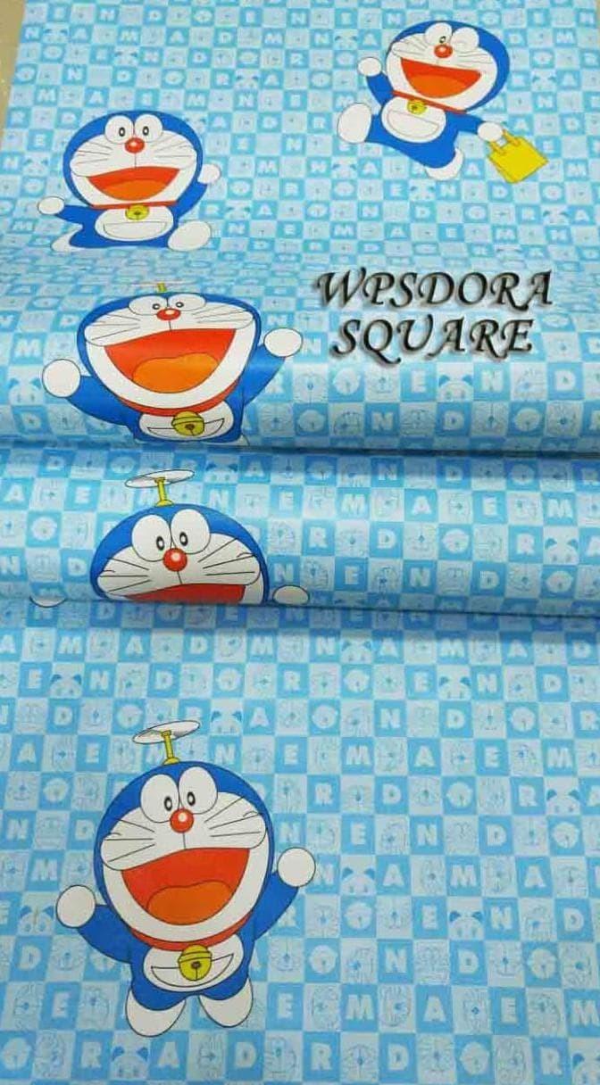 Jual WPSDORASQUARE DORAEMON WALLPAPER WALLPAPER DORAEMON STIKER DORAEMON Jakarta Barat Wiwie Atau Mba Siti Shop