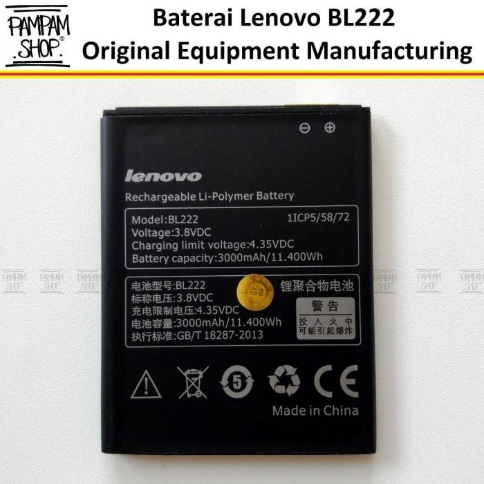harga Baterai handphone lenovo s660 bl222 original | bl 222 batre s 660 hp Tokopedia.com