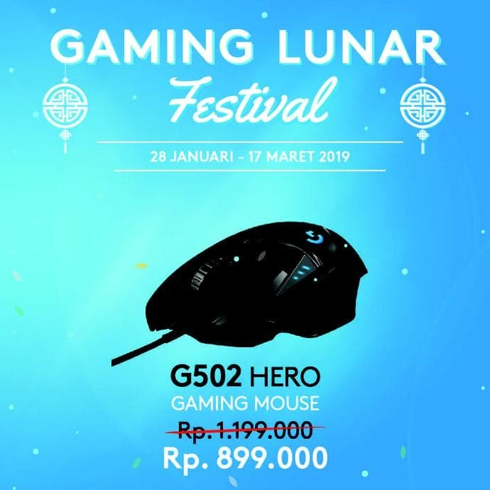 efbfd3324dc READY STOK LOGITECH G502 HERO HIGH PERFORMANCE GAMING MOUSE BEST BUY