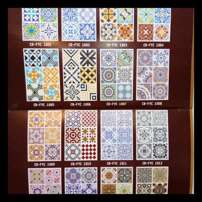Tiles Stiker Lantai Keramik