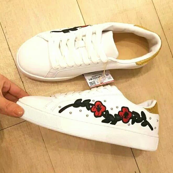 Jual Sepatu Sneaker Wanita Pull And Bear Kota Madiun
