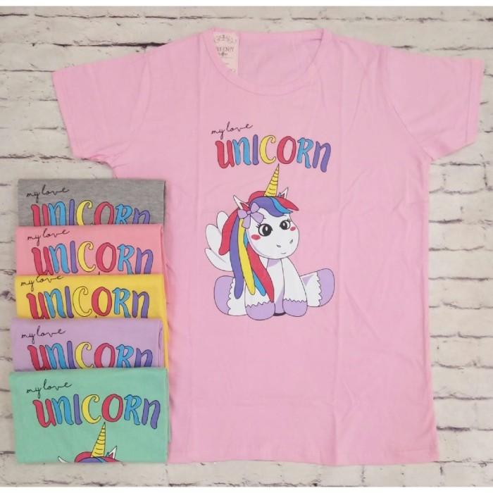 harga Kaos jumbo my love unicorn xxxl oreenjy cupcake Tokopedia.com
