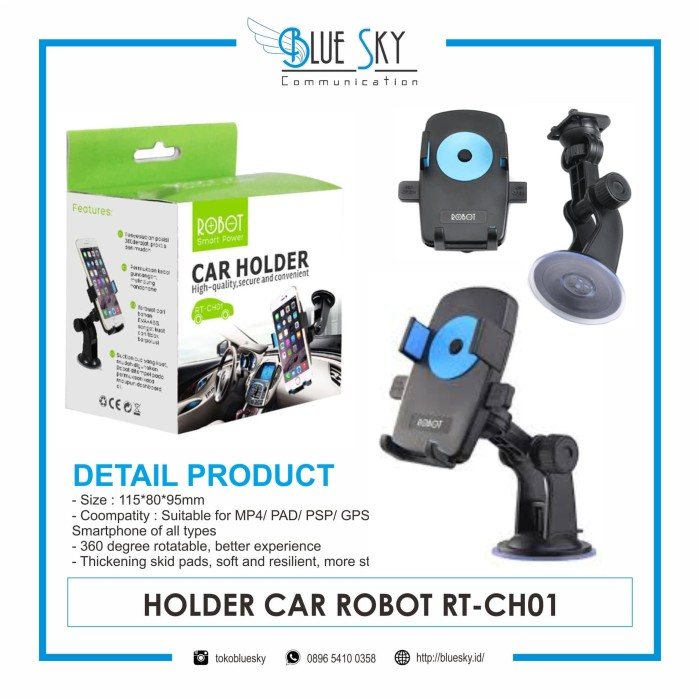Foto Produk HOLDER CAR ROBOT RT-CH01 dari Blue Sky Communication