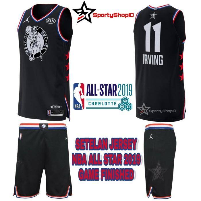 new product d22ff 8b13a Jual SETELAN JERSEY NBA ALL STAR 2019 GAME FINISHED KYRIE IRVING - REPLIKA  - Kota Bandung - Sporty Shop ID | Tokopedia