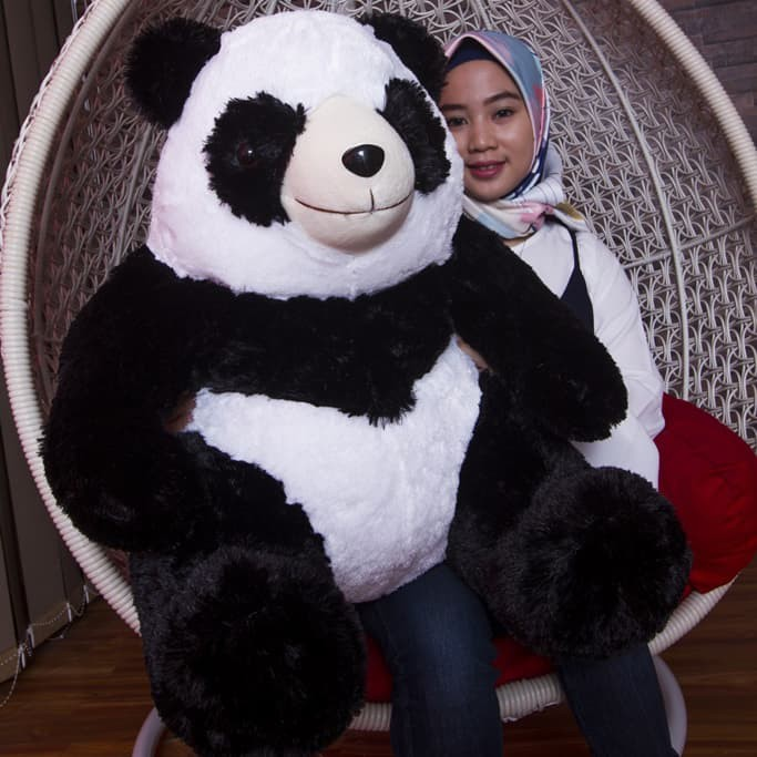 Jual Boneka Panda Besar 80 CM Original dan murah - Boneka Indonesia ... e7799ff52d