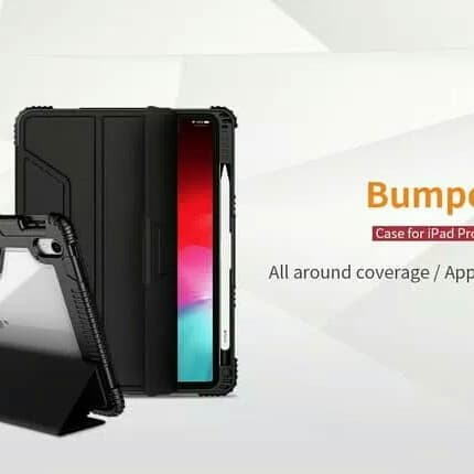 "Foto Produk CASING COVER CASE ARMOR BUMPER IPAD PRO 11"" NILLKIN BUMPER LEATHER dari SmartBuy-Mart"