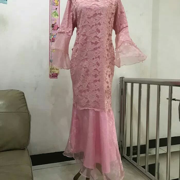 Jual Baju Gamis Model Duyung Dki Jakarta Feeshoping Tokopedia