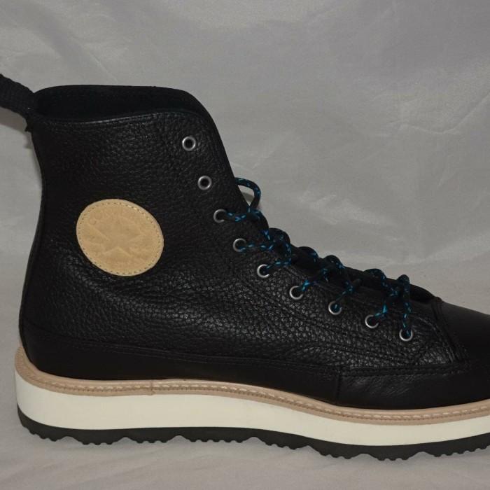 32032ef26a56 Jual Converse Chuck Taylor Crafted Boot Hi Black ORIGINAL Sneaker ...