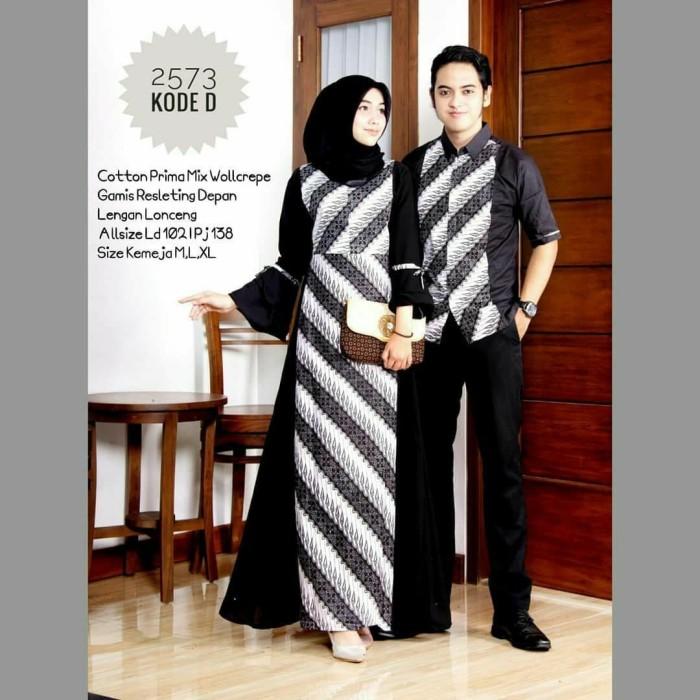 Jual Batik Couple Couple Gamis Model Terbaru Ori Seragam Keluarga Modern Kab Pekalongan Batik Zamzam Tokopedia