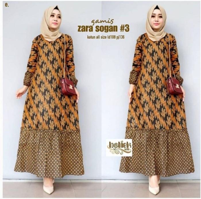 Jual Gamis Batik Baju Gamis Wanita Model Terbaru Ori Garansi Termurah Kab Pekalongan Batik Zamzam Tokopedia