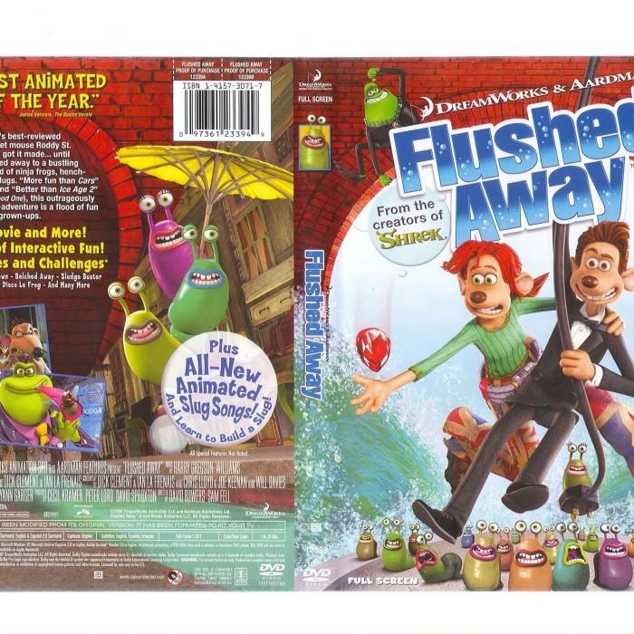 Jual Film Dvd Flushed Away 2006 Movie Collection Film Koleksi Jakarta Barat M Collector Tokopedia