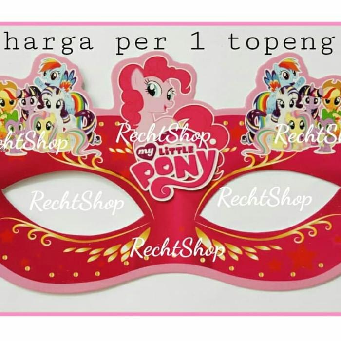 Jual Topeng Kertas Ulang Tahun Karakter My Little Pony Kota Bekasi Recht Shop Tokopedia