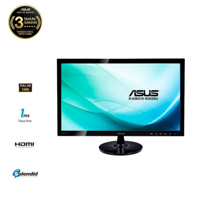 harga Monitor led asus vs248hr 24  fhd 1920x1080 1ms gtg hdmi dvi-d vga Tokopedia.com