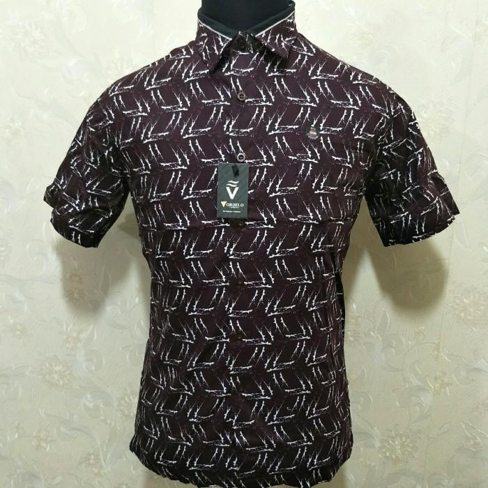 harga Kemeja batik pria casual lengan pendek vordelo-79 Tokopedia.com
