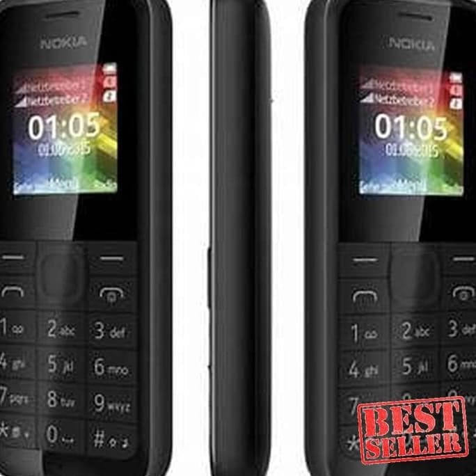 Super - Ori Handphone | Hp Nokia 105 Dualsim Baru - Hitam