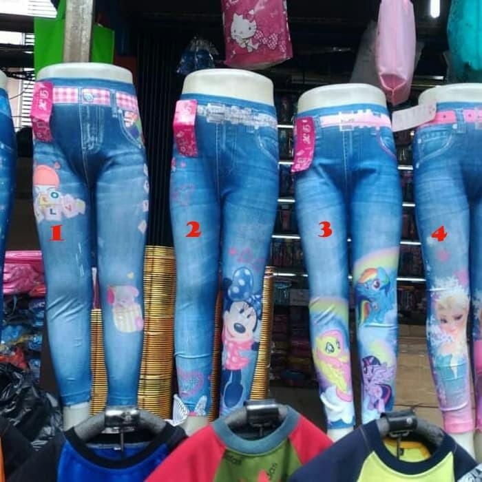 Jual Legging Anak Semi Levis Celana Anak Perempuan Legging Anak Terbaru Jakarta Timur Lie Collection Tokopedia