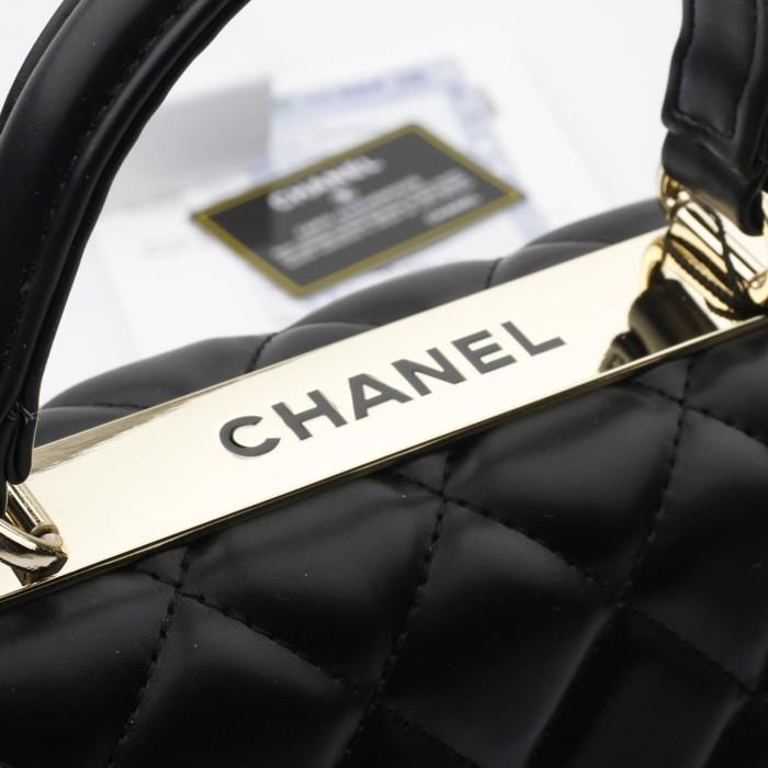 55569738b0ec64 Jual Chanel Flap Classic Lambskin* With Metal Plate Include Box ...